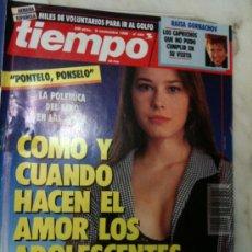 Coleccionismo de Revista Tiempo: REVISTA TIEMPO Nº 444 5/11/1990 PONSELO PONTELO-CUANDO HACEN EL AMOR LO ADOLESCENTES-RAISA GORBACHOV. Lote 30156467