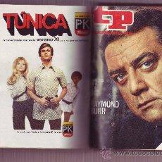 Coleccionismo de Revista Tiempo: TP TELEPROGRAMA Nª211 AL 220 AÑO 1970 (10 REVISTAS) ENCUADERNADAS. Lote 30060959