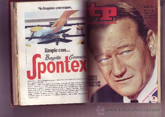 Coleccionismo de Revista Tiempo: TP TELEPROGRAMA Nª211 AL 220 AÑO 1970 (10 REVISTAS) Encuadernadas - Foto 2 - 30060959
