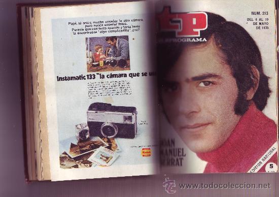 Coleccionismo de Revista Tiempo: TP TELEPROGRAMA Nª211 AL 220 AÑO 1970 (10 REVISTAS) Encuadernadas - Foto 3 - 30060959