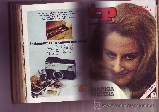 Coleccionismo de Revista Tiempo: TP TELEPROGRAMA Nª211 AL 220 AÑO 1970 (10 REVISTAS) Encuadernadas - Foto 4 - 30060959