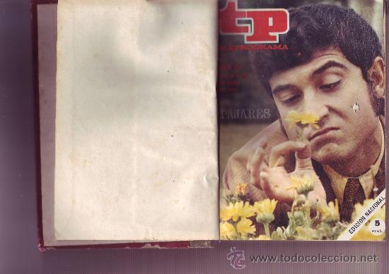 Coleccionismo de Revista Tiempo: TP TELEPROGRAMA Nª211 AL 220 AÑO 1970 (10 REVISTAS) Encuadernadas - Foto 5 - 30060959