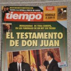 Coleccionismo de Revista Tiempo: REVISTA TIEMPO , NUMERO 571 , 12 DE ABRIL DE 1993 . . Lote 154348278