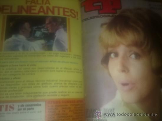 Coleccionismo de Revista Tiempo: TP TELEPROGRAMA Nª221 AL 230 AÑO 1970 (10 REVISTAS) Encuadernadas - Foto 6 - 30541533