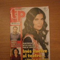 Coleccionismo de Revista Tiempo: REVISTA TP - Nº 2391- 30 ENERO - 5 FEBRERO -2012-. Lote 30728526