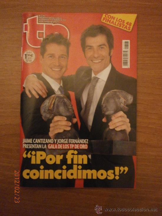 REVISTA TP - N-2393 - DEL 13-19 FEBRERO 2012- (Coleccionismo - Revistas y Periódicos Modernos (a partir de 1.940) - Revista Tiempo)