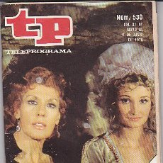 Coleccionismo de Revista Tiempo: REVISTA T.P. TELEPROGRAMA Nº 530. Lote 31152303