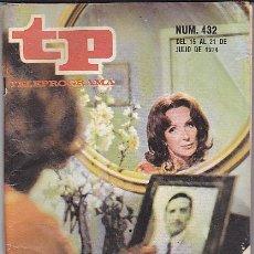 Colecionismo da Revista Tiempo: REVISTA T.P. TELEPROGRAMA Nº 432. Lote 31152315