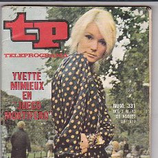 Coleccionismo de Revista Tiempo: REVISTA T.P. TELEPROGRAMA Nº 331. Lote 31152322