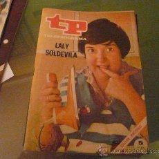Coleccionismo de Revista Tiempo: TELEPROGRAMA TP NUMERO 237 OCTUBRE 1970. Lote 31506634