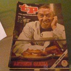 Coleccionismo de Revista Tiempo: TELEPROGRAMA TP NUMERO 243 NOVIEMBRE 1970. Lote 31507357