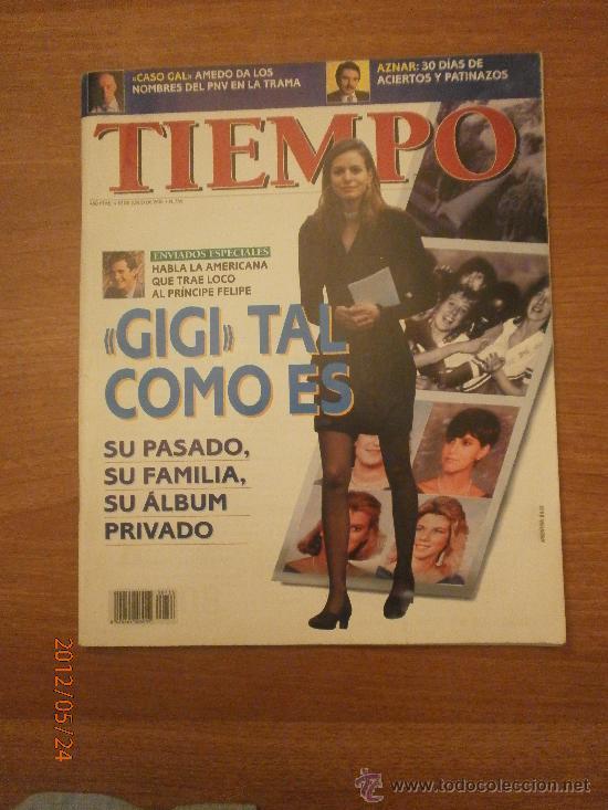 REVISTA TIEMPO 10 ENERO 1996-Nº 736- GIGI TAL COMO ES (Coleccionismo - Revistas y Periódicos Modernos (a partir de 1.940) - Revista Tiempo)