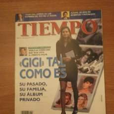 Coleccionismo de Revista Tiempo: REVISTA TIEMPO 10 ENERO 1996-Nº 736- GIGI TAL COMO ES . Lote 31942813