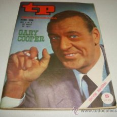 Coleccionismo de Revista Tiempo: TP TELEPROGRAMA Nº 265 - MAYO 1971 - PORTADA GARY COOPER. Lote 32195482