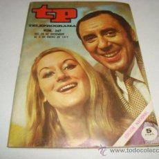 Coleccionismo de Revista Tiempo: TP TELEPROGRAMA Nº 247 - DIC-ENE 1971 - PORTADA JOAQUIN PRAT. Lote 32195484