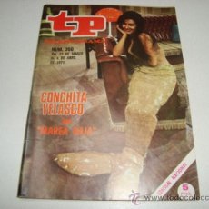 Coleccionismo de Revista Tiempo: TP TELEPROGRAMA Nº 260 - MARZO-ABRIL 1971 - PORTADA CONCHITA VELASCO EN MAREA BAJA. Lote 32195496