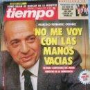 Coleccionismo de Revista Tiempo: REVISTA TIEMPO, Nº 537. AGOSTO 1992. ORDOÑEZ, DE LA ROSA, CARRERAS, CESAR RINCON, BUSH, AZKARRAGA.... Lote 32428015