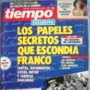 Coleccionismo de Revista Tiempo: REVISTA TIEMPO, Nº 551. NOVIEMBRE 1992. PAPELES SECRETOS DE FRANCO, MERCEDES MILA, HERMIDA, CLINTON. Lote 32428112