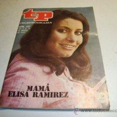 Coleccionismo de Revista Tiempo: TP TELEPROGRAMA Nº 257 (1971) MAMÁ ELISA RAMIREZ. Lote 32557507