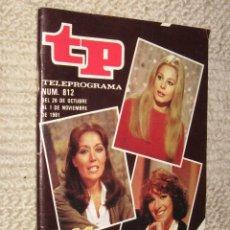 Coleccionismo de Revista Tiempo: TP TELEPROGRAMA Nº 812 DE 1981. 25 AÑOS DE TVE . Lote 32617661