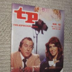 Coleccionismo de Revista Tiempo: TP TELEPROGRAMA Nº 792 DE 1981. AMILIBIA Y MARISA: BLA, BLA, BLA. Lote 32617685