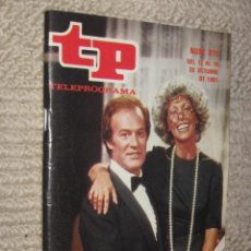 Coleccionismo de Revista Tiempo: TP TELEPROGRAMA Nº 810 DE 1981. DESDE LOS TIEMPOS DE ADAN. MARIA LUIS MERLO Y MANUEL TEJADA. Lote 32617754
