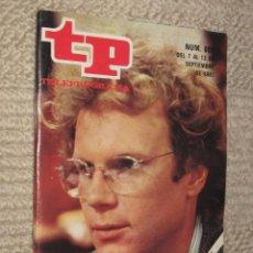 Coleccionismo de Revista Tiempo: TP TELEPROGRAMA Nº 805 DE 1981. VIDA DE ESTUDIANTE. Lote 32617766