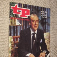 Coleccionismo de Revista Tiempo: TP TELEPROGRAMA Nº 809 DE 1981. EL REGRESO DE JOAQUIN PRAT. Lote 32617772