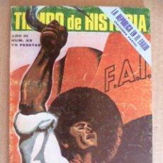 Coleccionismo de Revista Tiempo: REVISTA: TIEMPO DE HISTORIA - Nº 33. Lote 33005654