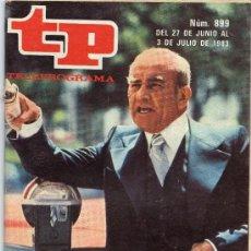Coleccionismo de Revista Tiempo: TP - TELEPROGRAMA 899. Lote 33465953