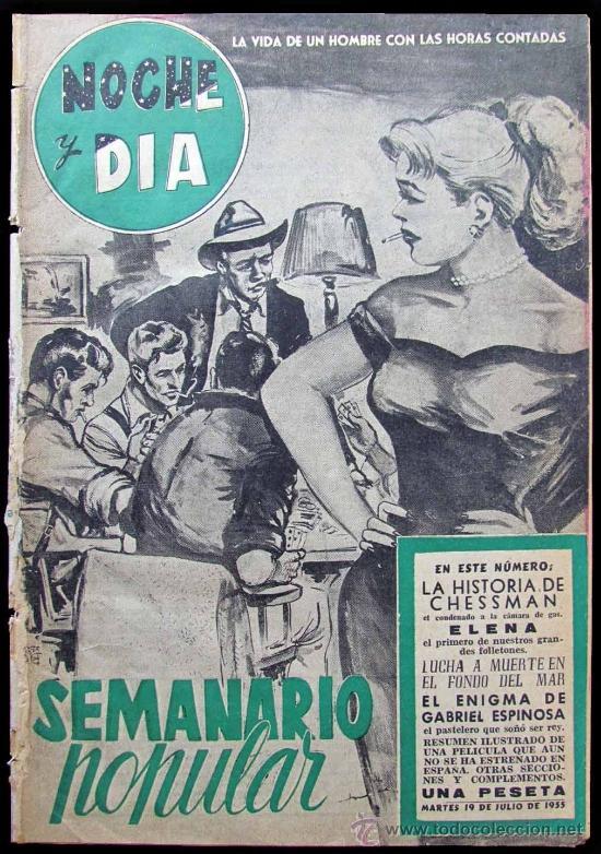 Nº 1 NOCHE Y DÍA - SEMANARIO POPULAR (Coleccionismo - Revistas y Periódicos Modernos (a partir de 1.940) - Revista Tiempo)