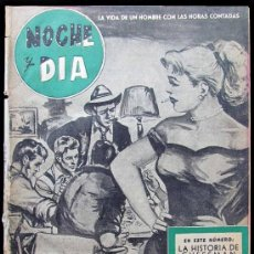 Coleccionismo de Revista Tiempo: Nº 1 NOCHE Y DÍA - SEMANARIO POPULAR. Lote 33892570
