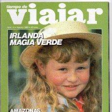Coleccionismo de Revista Tiempo: REVISTA TIEMPO DE VIAJAR, Nº 13 - IRLANDA MAGIA VERDE. Lote 34498744