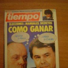 Coleccionismo de Revista Tiempo: REVISTA TIEMPO 2-8-JUNIO 1986 - Nº 218. Lote 34982591