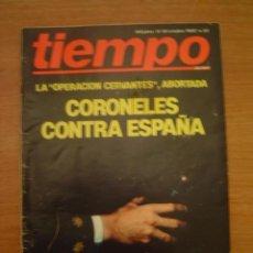 Collectionnisme de Magazine Tiempo: REVISTA TIEMPO -11-18- OCTUBRE 1982-- Nº 22. Lote 35002694