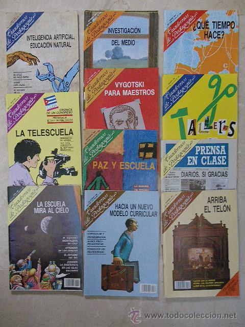 8 REVISTAS CUADERNOS DE PEDAGOGÍA. AÑOS 1986 Y 1987. (Coleccionismo - Revistas y Periódicos Modernos (a partir de 1.940) - Revista Tiempo)