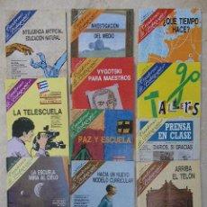 Coleccionismo de Revista Tiempo: 8 REVISTAS CUADERNOS DE PEDAGOGÍA. AÑOS 1986 Y 1987.. Lote 35012726