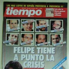 Coleccionismo de Revista Tiempo: REVISTA TIEMPO Nº 281 - SEPTIEMBRE - OCTUBRE 1987 - FELIPE GONZALEZ CRISIS DE GOBIERNO. Lote 35038849