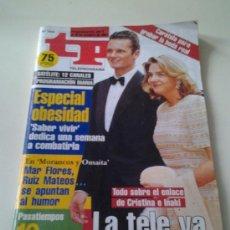 Coleccionismo de Revista Tiempo: TP AÑO1997 TODO SOBRE LA BODA DE IÑAKI URDANGARIN Y LA INFANTA CRISTINA.. Lote 35237908