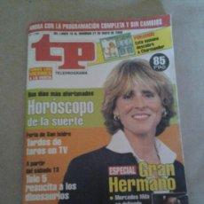 Coleccionismo de Revista Tiempo: TP ESPECIAL GRAN HERMANO GH AÑO 2000. Lote 35558346