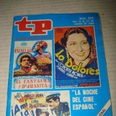 Coleccionismo de Revista Tiempo: ANTIGUO TP TELEPROGRAMA Nº 928 DEL AÑO 1984 .. Lote 35689147