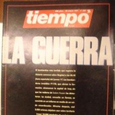 Coleccionismo de Revista Tiempo: REVISTA TIEMPO Nº 456. LA GUERRA.. Lote 35757508