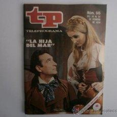 Coleccionismo de Revista Tiempo: TELEPROGRAMA.TP NUM. 515. AÑO1976. AMPARO PAMPLONA, RAFAEL ARCOS. PORTADA E INTERIOR.. Lote 35790700
