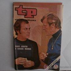 Colecionismo da Revista Tiempo: TELEPROGRAMA.TP NUM.285. AÑO 1971. TONY CURTIS, ROGER MOORE. PORTADA E INTERIOR.. Lote 35824714