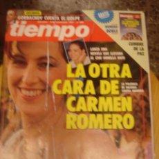 Coleccionismo de Revista Tiempo: REVISTA TIEMPO Nº 495. LA OTRA CARA DE CARMEN ROMERO. Lote 35995379