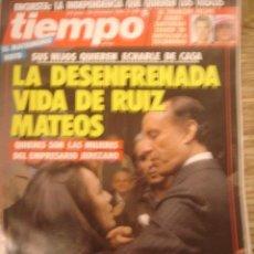 Coleccionismo de Revista Tiempo: REVISTA TIEMPO Nº 477. LA DESENFRENADA VIDA DE RUIZ MATEOS. Lote 35995828