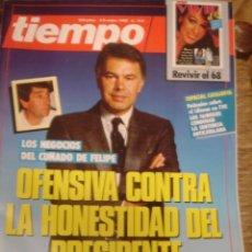 Coleccionismo de Revista Tiempo: REVISTA TIEMPO Nº 312. OFENSIVA CONTRA LA HONESTIDAD DEL PRESIDENTE. Lote 35998057