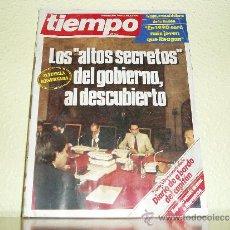 Coleccionismo de Revista Tiempo: REVISTA TIEMPO Nº 129 - 1984 LOS ALTOS SECRETOS DEL GOBIERNO AL DESCUBIERTO. Lote 36139005