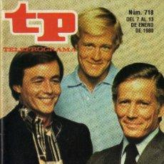 Coleccionismo de Revista Tiempo: TP PROGRAMACIÓN SEMANAL. Lote 36705358