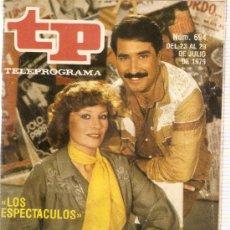 Coleccionismo de Revista Tiempo: REVISTA TP Nº 694 LOS ESPECTACULOS. Lote 36921785
